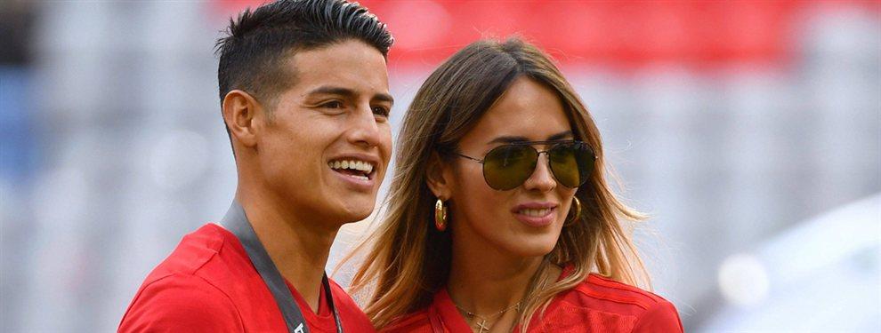El futuro de James Rodríguez está tardando más de lo esperado para definirse, pero parece que ya hay decisión.