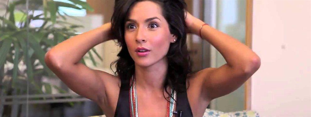 La reconocida actriz Carmen Villalobos habitualmente está involucrada en actos benéficos para enfermos.