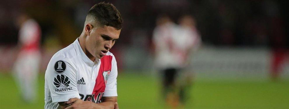 El Valencia se ha interesado por Juan Fernando Quintero, si bien River Plate no lo pone nada fácil