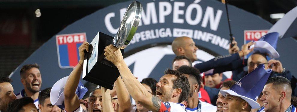 La campaña de Tigre a lo largo de la Copa de la Superliga donde se coronó campeón.