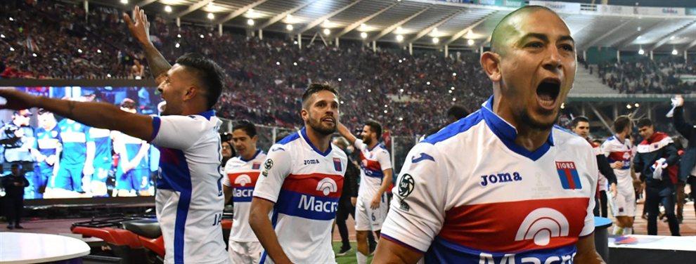 Tigre será el séptimo equipo sudamericano en disputar la Copa Libertadores estando en la B.