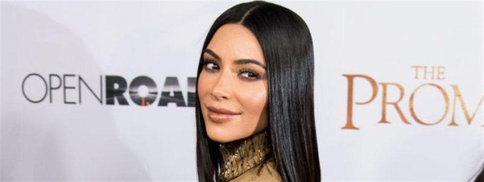 Kim Kardashian es experta en subir la temperatura, como se vio en su última foto, en la que enseña carne