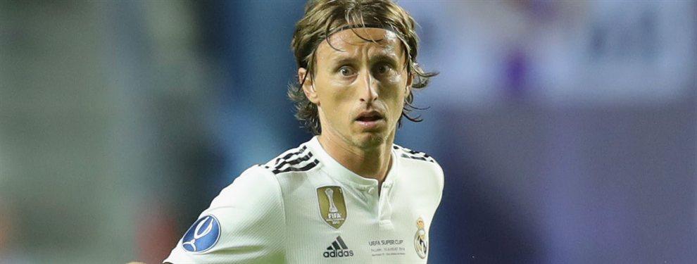 Luka Modric recibió el premio al mejor jugador croata de la temporada 2018/2019 ayer.