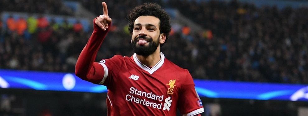 La UEFA ha decidido dejar fuera de su equipo de la temporada a Mohamed Salah de manera incomprensible.