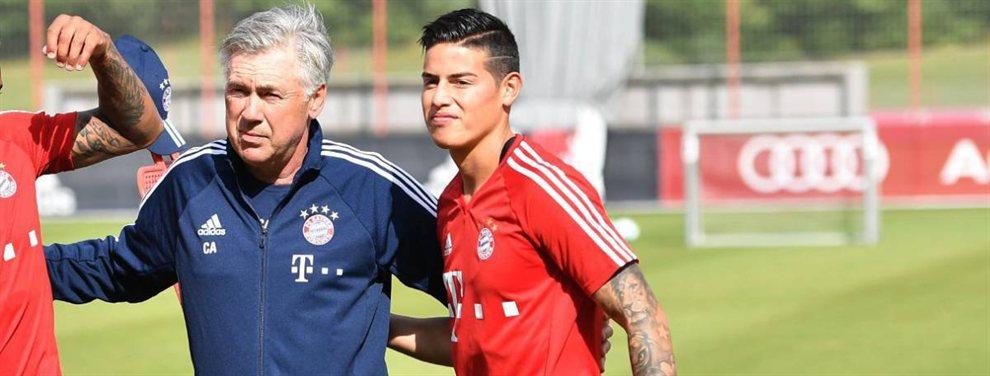 James Rodríguez prefiere hacer la pretemporada con el Real Madrid antes de dar el OK al Napoli de Ancelotti