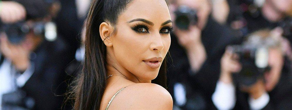 Kim Kardashian fue capturada durante su embarazo, con un cuerpo irreconocible que le ha costado críticas