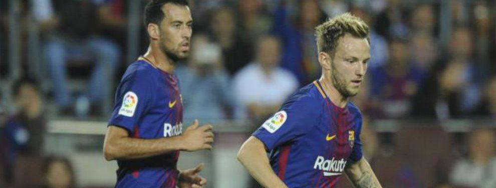 El FC Barcelona estría buscando competencia a jugadores de la talla de Busquets, Rakitic, Suárez y Jordi Alba.