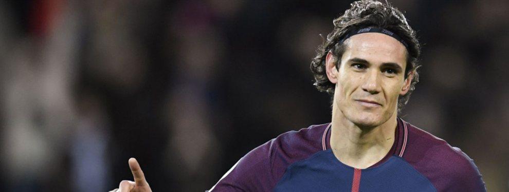 Edison Cavani estaría planeando aceptar la oferta del atlético de Madrid para la siguiente temporada.