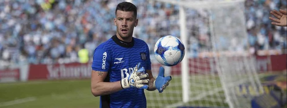 Guido Herrera es uno de los apuntados por el Leipzig para reforzar el arco para la próxima temporada.