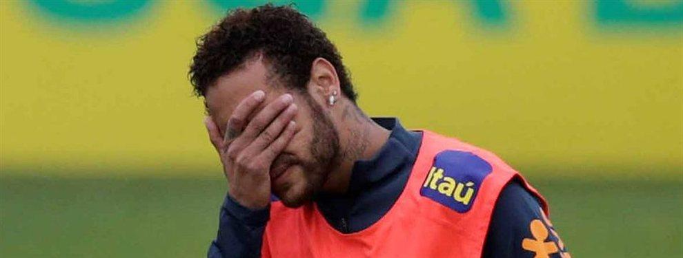 Un dirigente de la Confederación Brasileña puso en duda la participación de Neymar.