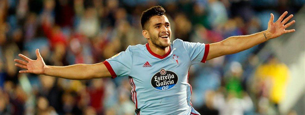 Maxi Gómez estaría en la órbita del Valencia. En la operación podría entrar Santi Mina. El jugador y no iría al FC Barceloa