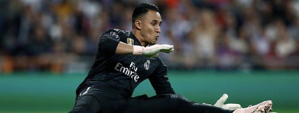 Keylor Navas está obligado a salir del Real Madrid y negocia con el PSG de Neymar y Mbappé