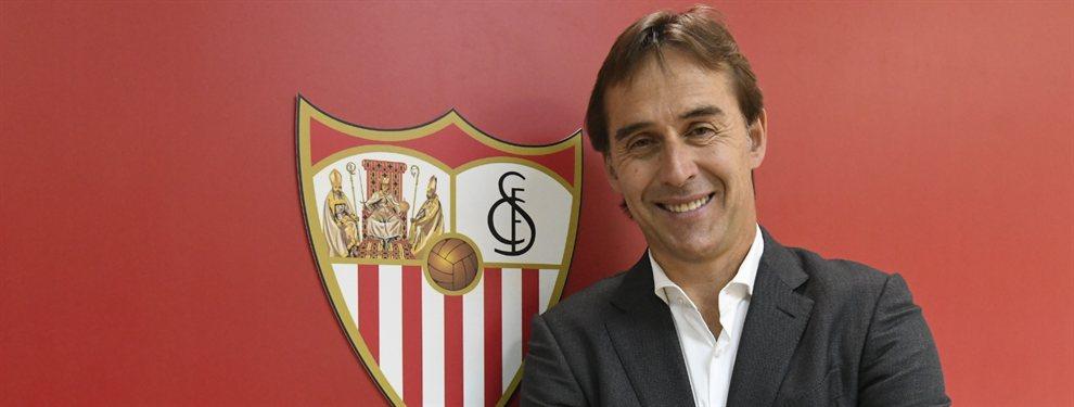 Julen Lopetegui fue elegido nuevo entrenador del Sevilla y ya ha pedido el fichaje de Reguilón desde el Real Madrid