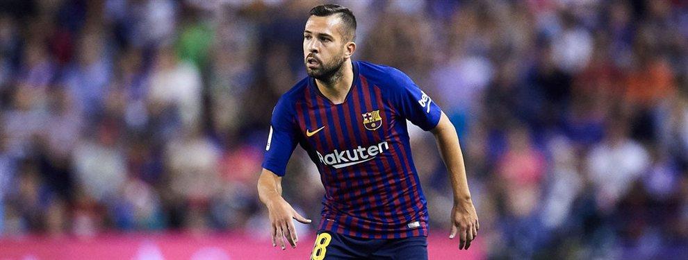 El Barça busca a un relevo para Jordi Alba y en las últimas horas gana fuerza el nombre de Diego Palacios