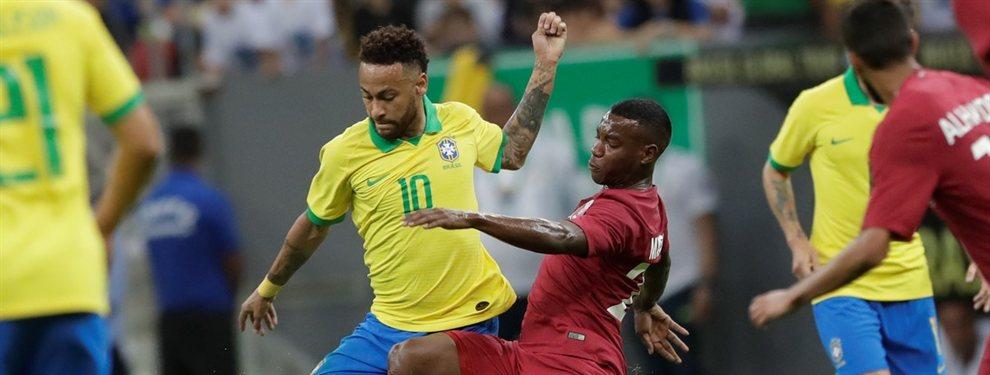 Neymar se fracturó el ligamento del tobillo derecho ante Qatar y se pierde la Copa América.