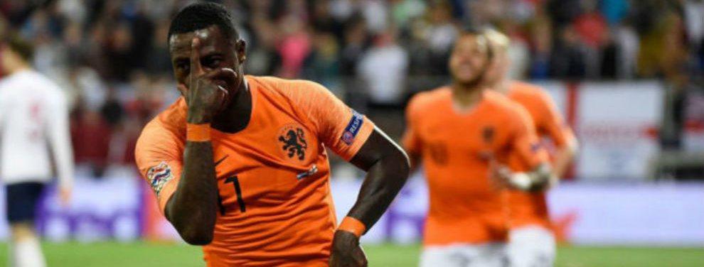 Holanda venció a Inglaterra por 3-1 y avanzó a la final de la Liga de las Naciones de la UEFA.