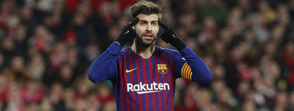 Gerard Piqué sabe que Gianluigi Buffon se ha ofrecido al Barça para la próxima temporada