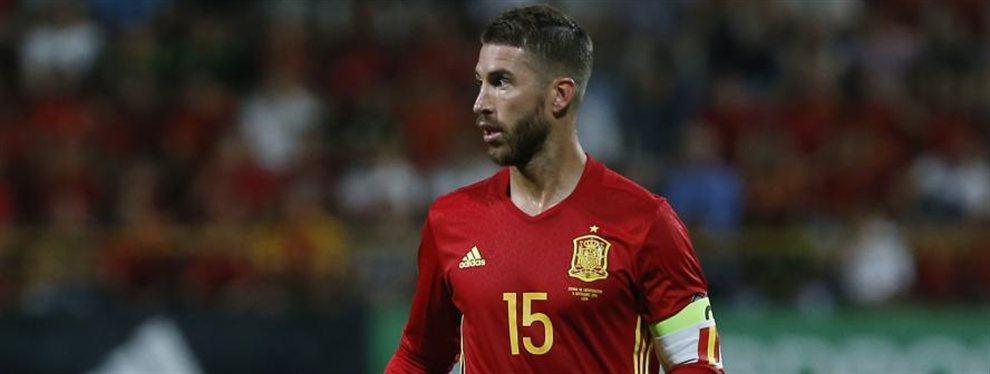El Real Madrid tiene motivos para temblar: Sergio Ramos le ha comunicado a los compañeros de la selección que tiene una oferta del PSG