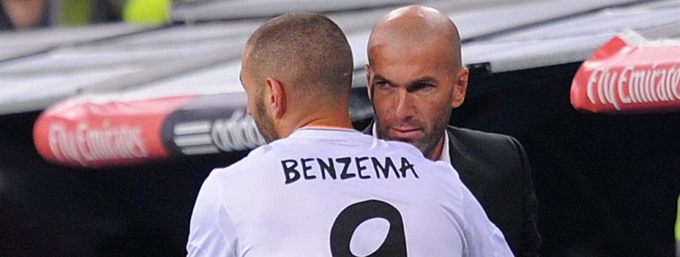 Benzema sabe que Zinedine Zidane no quiere ni ver a Mario Hermoso, que apunta al Atlético de Madrid
