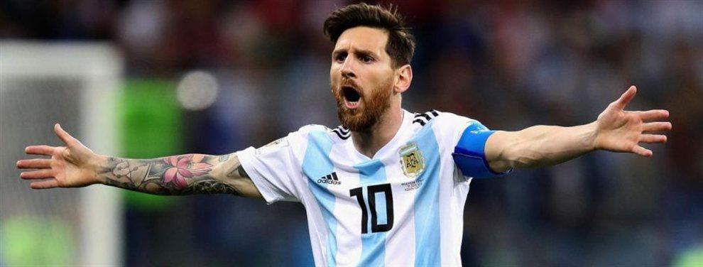 Leo Messi no ve como a la selección argetina como facorita para ganar la copa América.