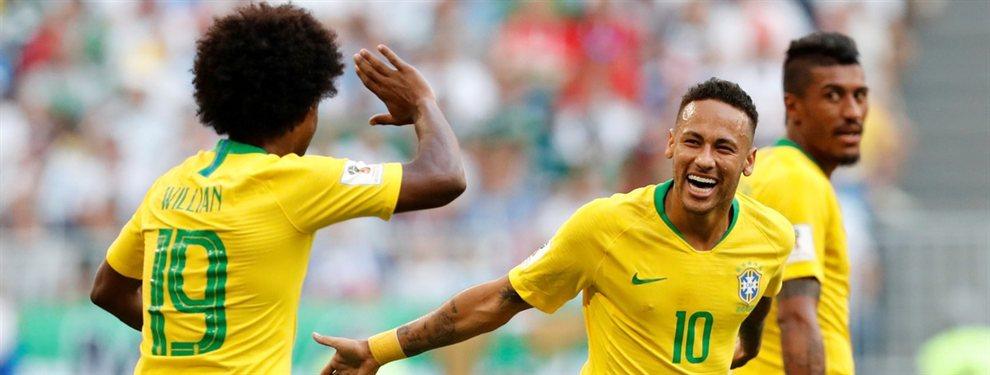 Tite designó a Willian como reemplazante de Neymar para disputar la Copa América.