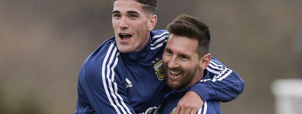 Messi en este momento está en modo Selección Argentina por la preparación para la Copa América.