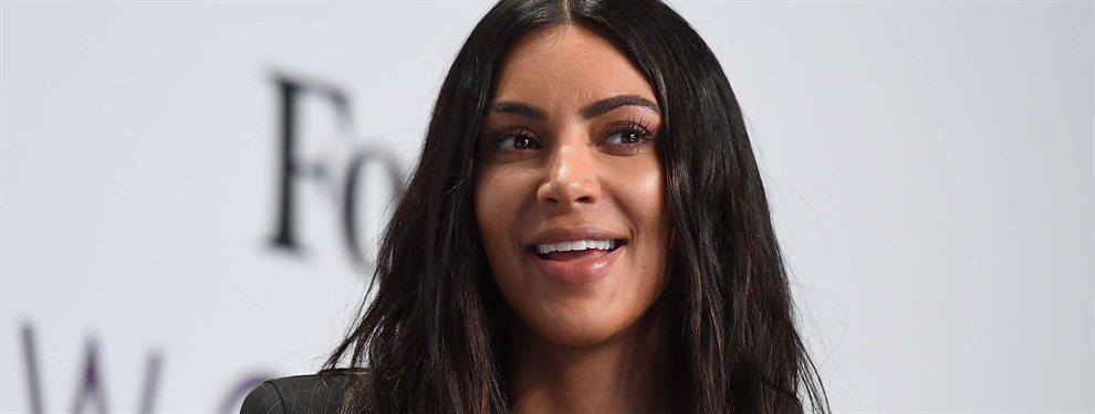 El verse bien es cuestión de actitud, y no hay duda alguna que a Kim Kardashian le sobra esta virtud.