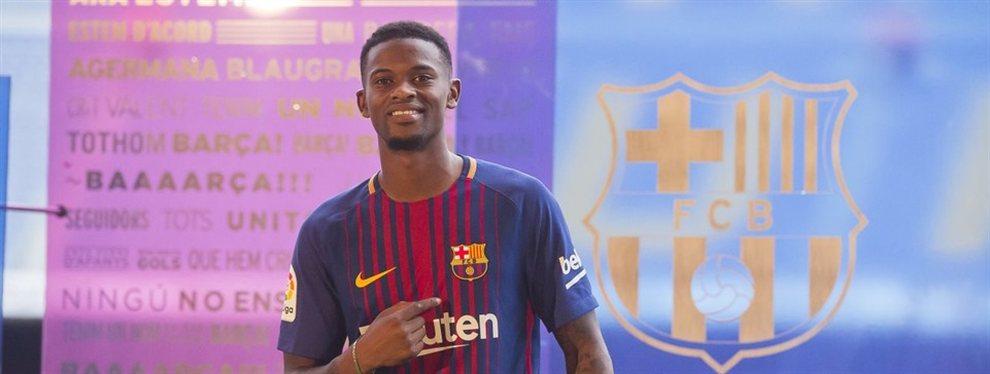 Nelson Semedo buscar salir del FC Barcelona a toda costa este próximo mercado de fichajes