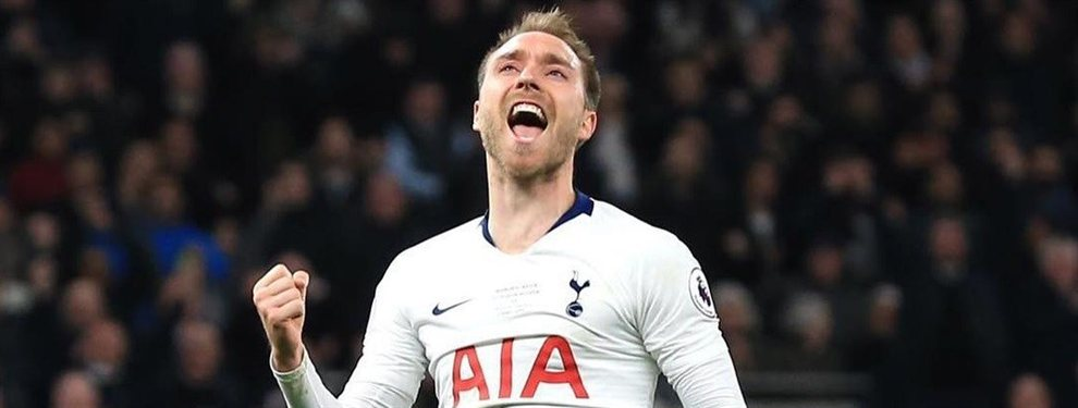 El Real Madrid parece haber descartado a Christian Eriksen, ya que el Tottenham no rebaja sus pretensiones