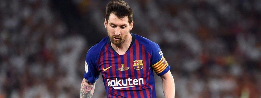 El fichaje sorpresa para Messi que revoluciona el Barça