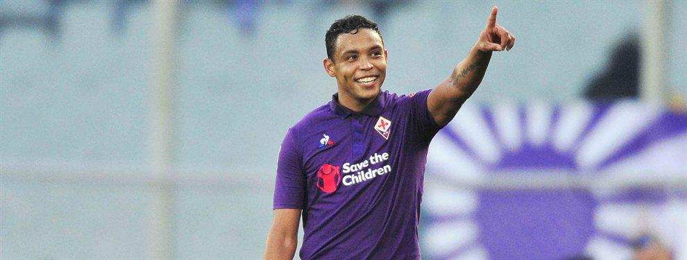 Luis Muriel no seguirá en la Fiorentina y podría acabar en el Atalanta, que le garantizaría jugar en Champions League