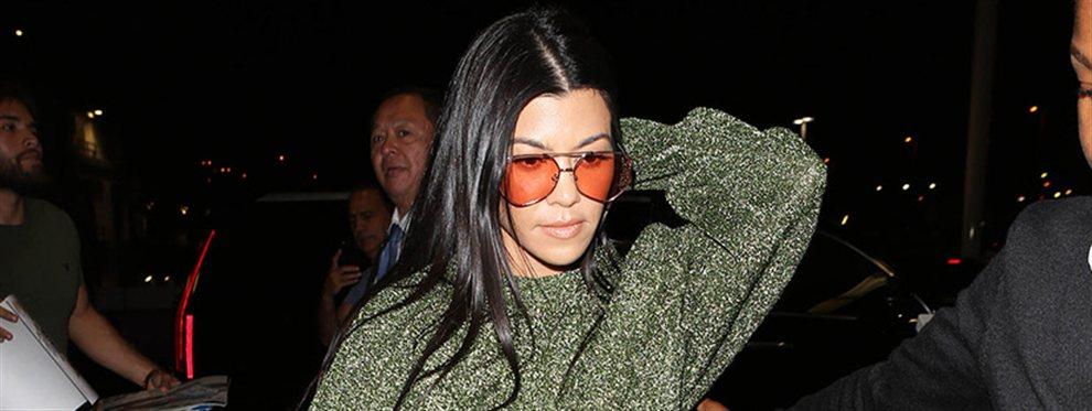 Kourtney Kardashian no quiere quedarse atrás en la carrera por calentar las redes y no pierde el hilo