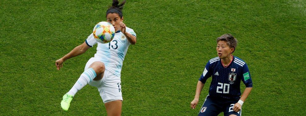 La Selección Argentina se enfrenta con Japón en el inicio del Mundial de fútbol femenino.