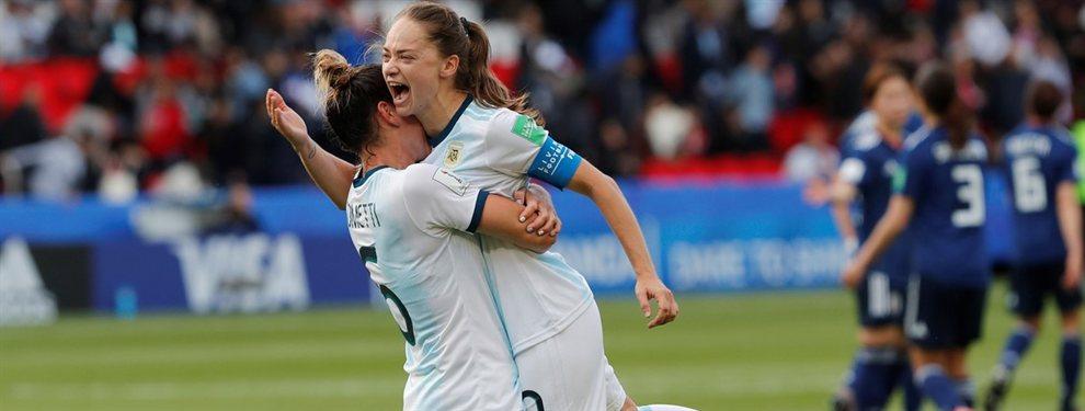La Selección Argentina de fútbol femenino igualó 0 a 0 con Japón en el inicio del Mundial.