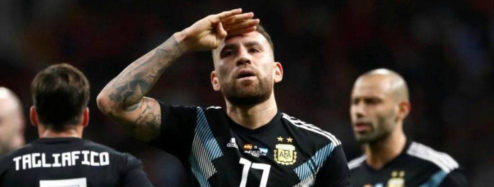 Nicolás Otamendi no desea continuar en el Manchester City y el PSG lo pretendería.