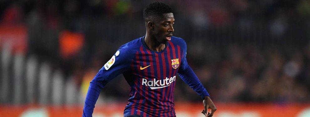 Ousmane Dembélé volvió a faltar a un entrenamiento, antes de la final de Copa del Rey ante el Valencia