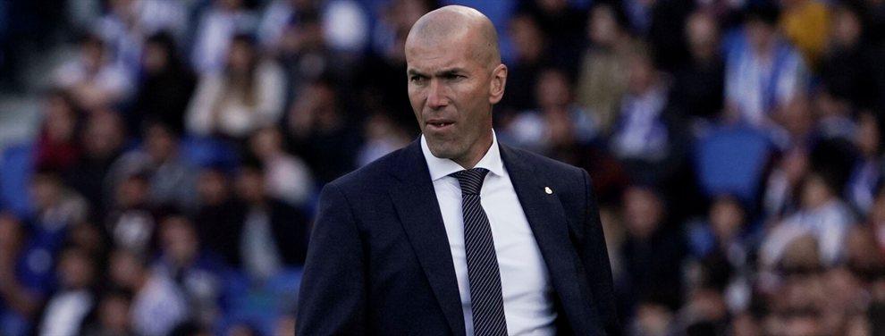 Zidane echa a un crack del Real Madrid (y alucinarás porqué)