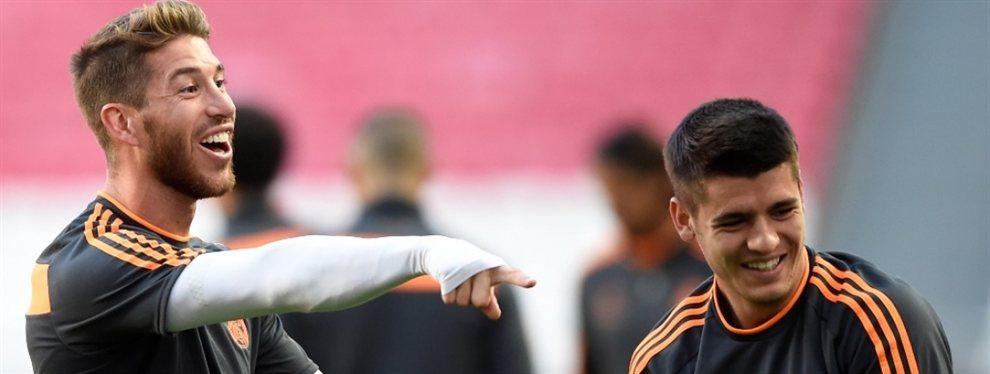 El emotivo gesto de Sergio Ramos con Morata