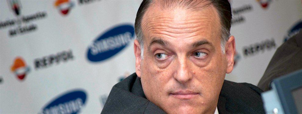 Tebas acusa de 'pájaro' a Carlos Aranda