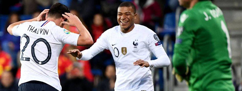 Francia se impuso por 4 a 0 sobre Andorra por las Eliminatorias rumbo a la Eurocopa 2020.