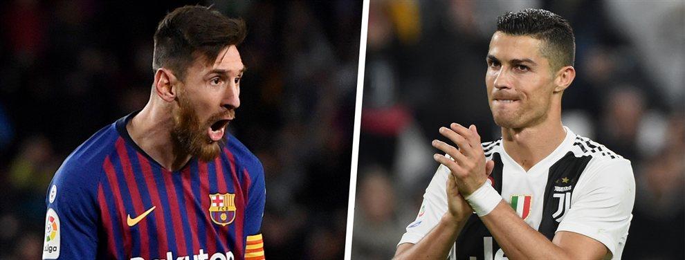 Leo Messi lidera el podio de los futbolistas mejor pagados del Mundo, seguido de Cristiano Ronaldo y Neymar