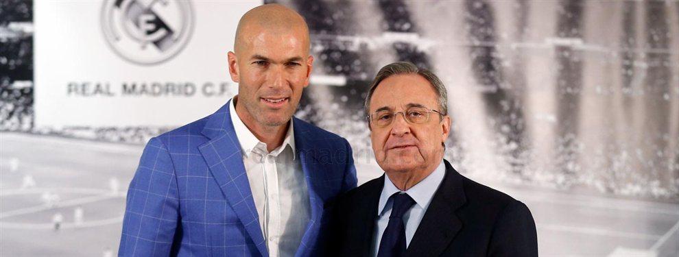 Zidane se enzarza con Florentino por una venta del Real Madrid