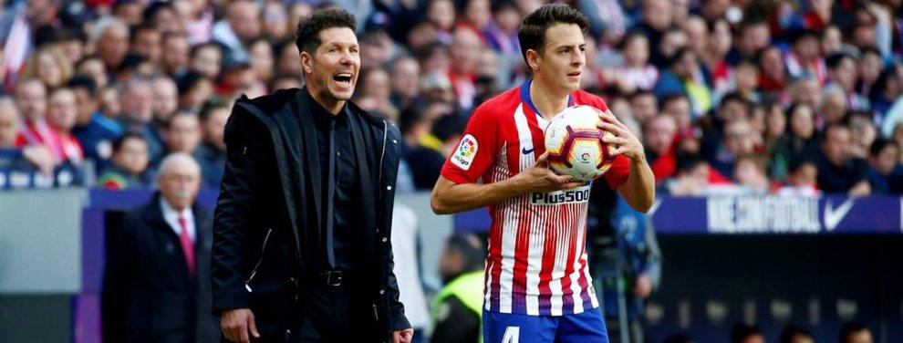 Santiago Arias no tiene decidido seguir en el Atlético de Madrid y el Inter de Milán llama a su puerta