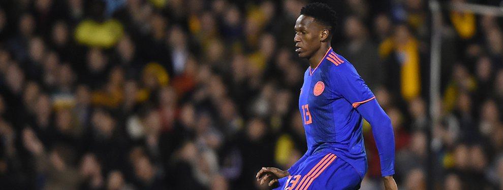 El Everton pretende incorporar a Djené Dakonam, lo que complicaría aún más las cosas para Yerry Mina