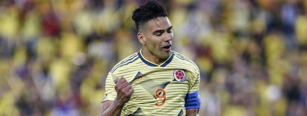Radamel Falcao quiere salir del Mónaco y llegar a España y propuestas no le faltarán