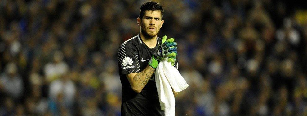 Agustín Rossi tenía todo acordado con Banfield, pero finalmente decidió recalar en Lanús.