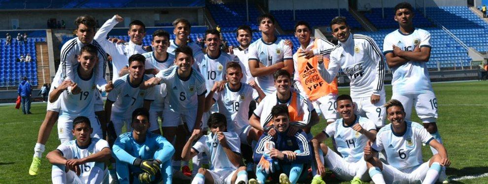 La Selección Argentina Sub 17 venció por 2 a 0 a Turquía y avanzó a la final de un torneo amistoso en Rusia.