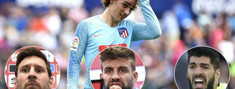 Luis Suárez y Leo Messi vetarán de la manera que sea posible la incorporación de Antoine Griezmann