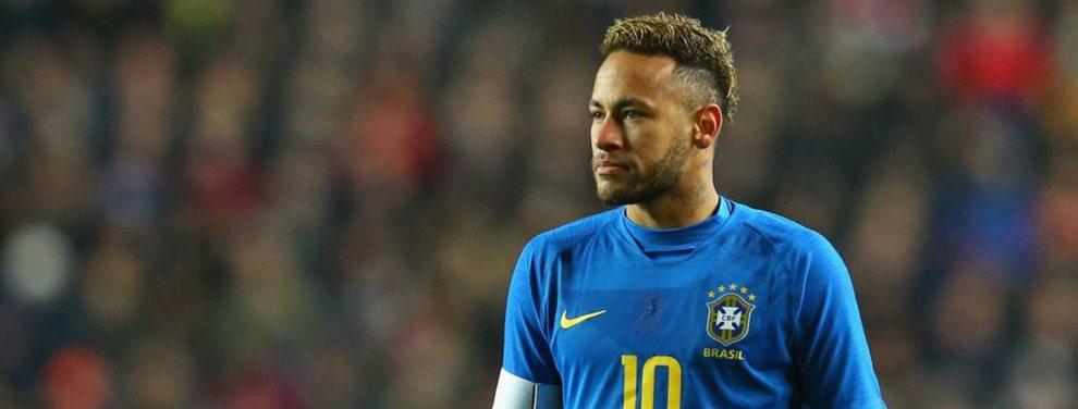 Neymar puede salir del PSG y el Manchester City de Pep Guardiola se ha posicionado para acogerle