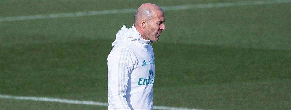 Zinedine Zidane sabe de primera mano que Antoine Griezmann es un estorbo en el Barça